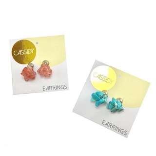 Cluster Post Stud Earrings
