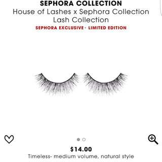 Looking to buy house of lashes timeless