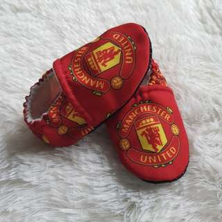 Manchester United Baby Booties