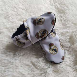 Real Madrid Baby Booties