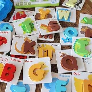 Educational Alphanumeric cards