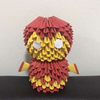 Iron Man 3D Origami (simple and small)