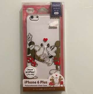 iPhone 6 Plus 透明印花電話殼