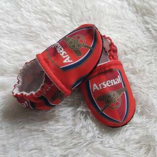Arsenal Baby Booties