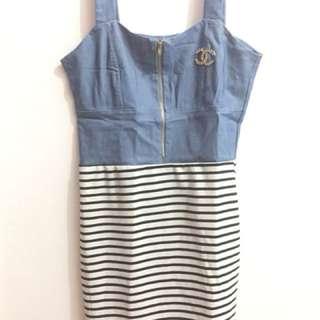 short dress blue