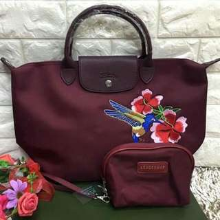 LONGCHAMP WITH POUCH