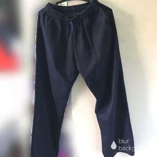Dark blue jogging pants