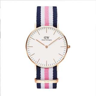 DANIEL WELLINGTON Rose Gold Southampton Watch Band