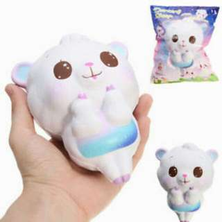 Squishy Dancing White Rainbow Sheep