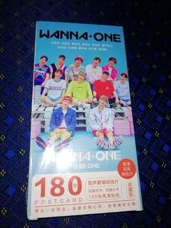 Wanna One Post Card