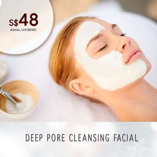 Deep Pore Cleansing Facial First Trial