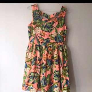 🚚 Pazzo 夏天熱帶洋裝