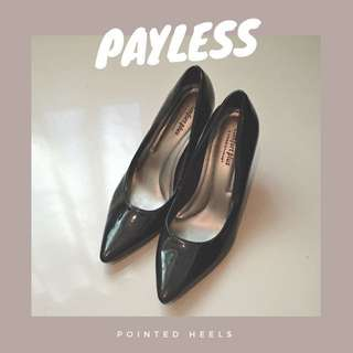 Payless Pointed Patent Heels