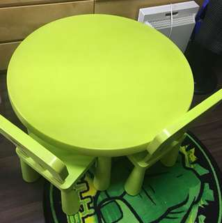Ikea Round Table and 2 Chairs