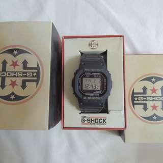 Casio G-shock Dw-5030c-1jr 30th Anniversary (Resist Black)