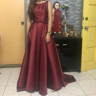 Marsala Backless