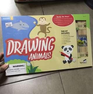 Buku BBW Drawing Animals