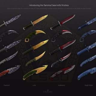 Selling any csgo knife