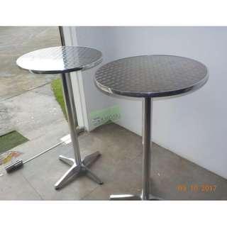 ROUND BAR Table Aluminum--KHOMI