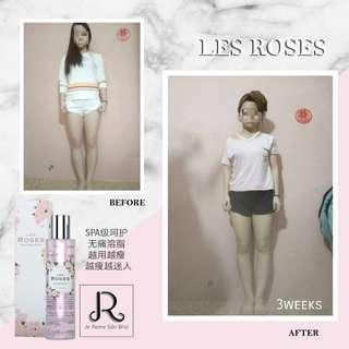 Les Roses body firming serum