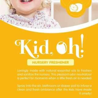 Kid oh! Natural nursery freshener