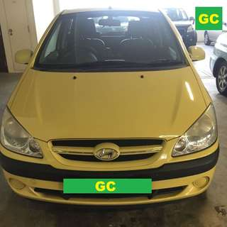 Hyundai Getz Manual CHEAPEST RENT AVAILABLE FOR Grab/Uber