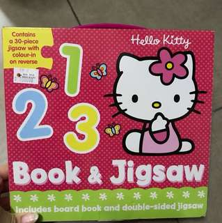 Buku BBW Hello Kitty book & jigsaw
