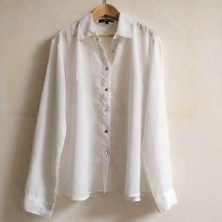 Cole White Shirt