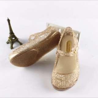 Jelly Hallow flat sandals