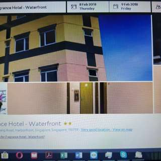 1 night stay at Fragrance Hotel- Waterfront