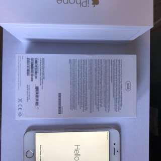 16 GB unlocked iPhone 6 - ROSE GOLD