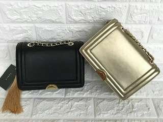 Pedro Chain Handle Crossbody