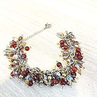 Vintage style charm bracelet