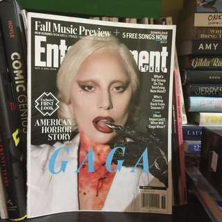 [REPRICED!] LADY GAGA Entertainment Weekly