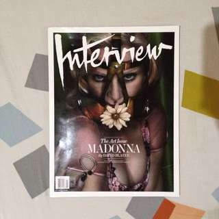 [REPRICED] MADONNA Interview Magazine Cover