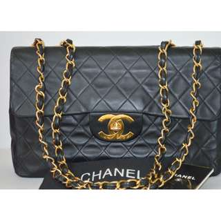 CHANEL MAXI VINTAGE SINGLE FLAP