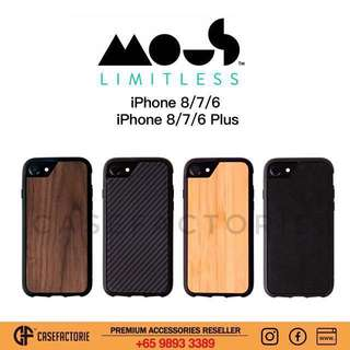 Mous Limitless 2.0 Case for iPhone 8 / 7 / 6 Plus