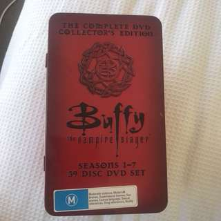 Buffy complete 7 seasons collectors editions DVD