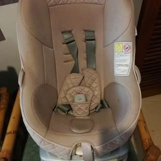 Combi 360 rotatable car seat, suitable from 0 to 18kg