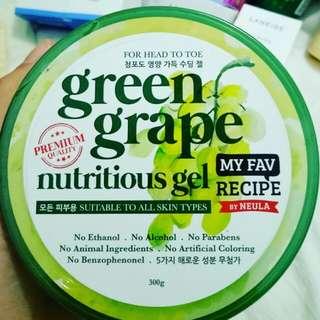 Green Grape Nutritious Gel