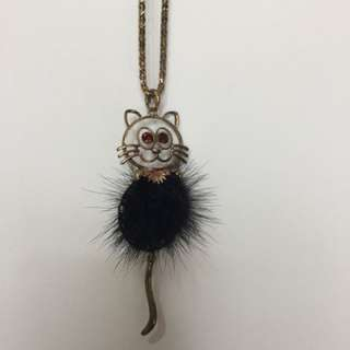 Furry Cat Necklace