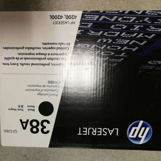 Hp laserjet ink cartridge 38A, 53A , 55A, 10A and 13A
