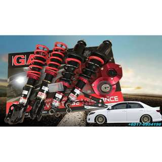 Toyota Altis 12 GAB Adjustable Suspension