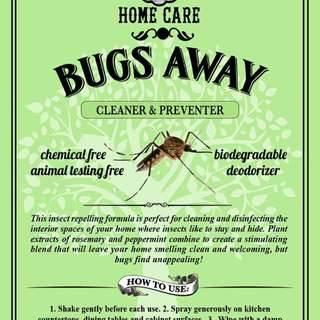 Theodore's Natural Bugs Away Spray