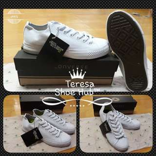 Converse Lunar™ *ALL White * Vietnam Made *Class A