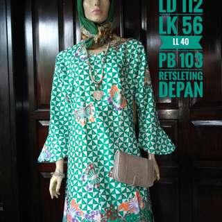 Dress/tunic batik bigsize