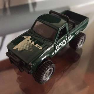 Tomica #61 Toyota Hilux - LOOSE - Marty McFly Back To The Future