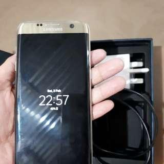 S7 edge 32gb Gold Platinum