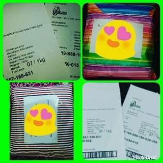 Paket 70218 alhamdulillah