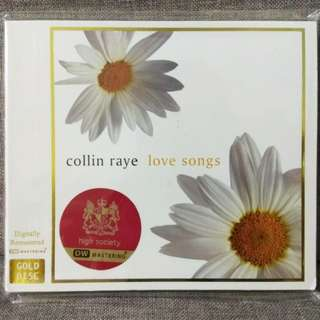 arthcd COLLIN RAYE Love Songs GOLD DISC CD (Love Me, In This Life, The Gift, And I Love You So, Let It Be Me etc)